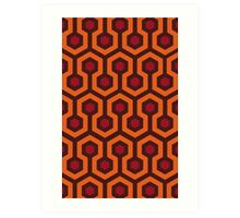 Overlook Hotel Carpet (The Shining)  Art Print