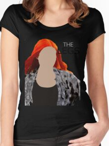 The Legs- Amy Pond- Shirt Women's Fitted Scoop T-Shirt