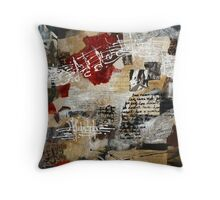 Instruments of Love Throw Pillow