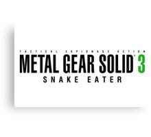 Metal Gear Solid 3 Mug Canvas Print