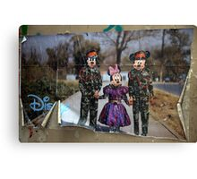 Disney World Canvas Print