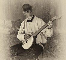 Banjo Player by Bryan Peterson