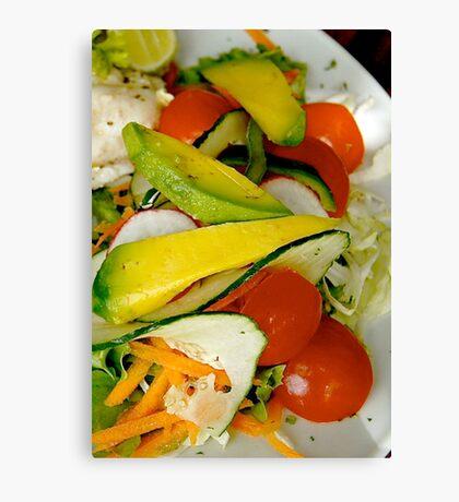 Salad Canvas Print