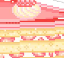 Raspberry Cake Slice Sticker