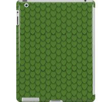Green Dragon Scales iPad Case/Skin