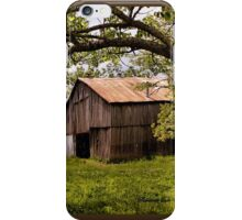 Another Spring ~ the Old Barn Still Stands iPhone Case/Skin