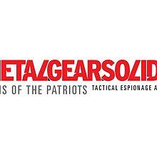 Metal Gear Solid 4 Mug by Mattbrush