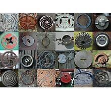 Metal Circles Photographic Print