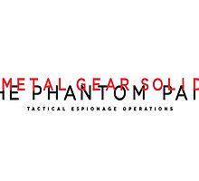 Metal Gear Solid V : The Phantom Pain Mug by Mattbrush