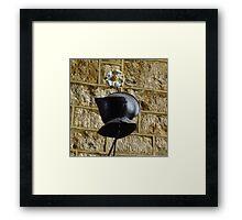 Medieval Helmet  Framed Print