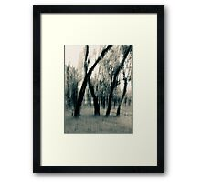 Where We Stand An Abstract Expressionism Framed Print