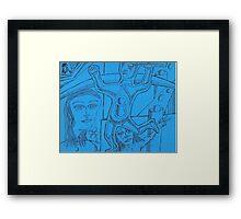 personal myth Framed Print