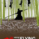 House of Flying Daggers minimal poster by Zoe Toseland