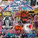 Lennonova Zed (Lennon Wall) by Manuel Gonalves