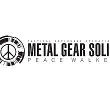 Metal Gear Solid : Peacewalker Mug by Mattbrush
