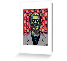Frankenstein Funkenstein Greeting Card