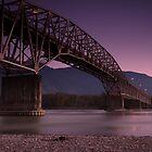 Agassiz Rosedale Bridge  by Jean Poulton