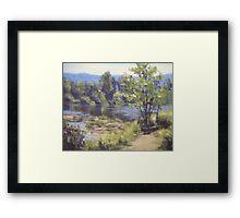 Summer South Umpqua Framed Print