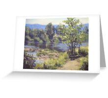 Summer South Umpqua Greeting Card
