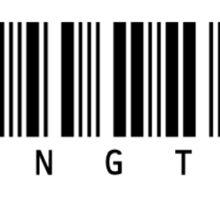 "BTS Bangtan ""no jams"" Jimin13 Barcode Design Sticker"