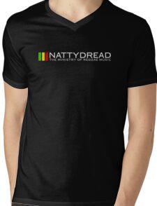 NattyDread - The Ministry Of Reggae Music Mens V-Neck T-Shirt