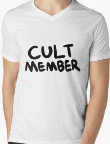 Cult Member Mens V-Neck T-Shirt