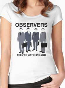 Observers Women's Fitted Scoop T-Shirt
