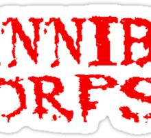 CANNIBAL CORPSE GRINDCORE Sticker