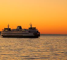 Washington State Ferry by Barb White