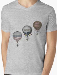 Vintage Hot Air Balloon Race Mens V-Neck T-Shirt