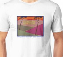 Rare Gleneagles Vintage Travel Poster Restored Unisex T-Shirt