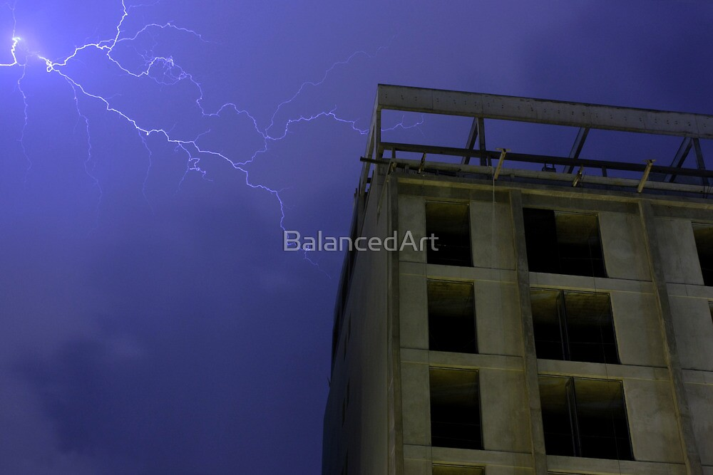 Lightning On Rivadavia 3 by BalancedArt