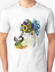 Funky Trumpet Player T-Shirt