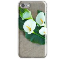 Lovely Calla Lilies... iPhone Case/Skin