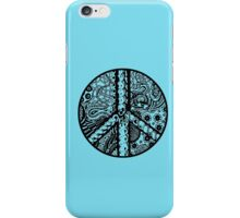 Circle of Peace Aussie Tangle - See Description Note for Colour Options iPhone Case/Skin