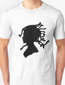 Medusa Victorian Silhouette Unisex T-Shirt