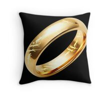 Reptile Ring to Rule Them All Throw Pillow