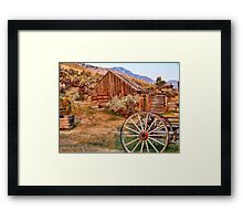 Bannack, Montana (USA) Framed Print