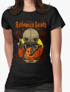 Halloween Saints: Sam Womens Fitted T-Shirt