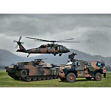 Aust Army Photographic Print
