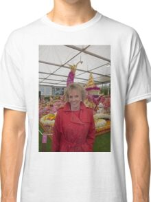 Esther Rantzen at the Chelsea flower show 2015 Classic T-Shirt