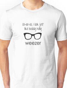 I'm Buddy Holly - Weezer Unisex T-Shirt