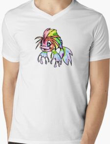 Rainbow Koi Mens V-Neck T-Shirt