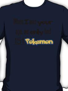 151 Pokemon T-Shirt