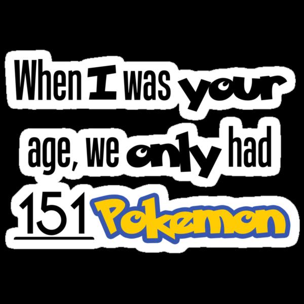 151 Pokemon by ZinkLTD