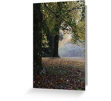 Soft Colours of Autumn - Mt Wilson NSW Australia Greeting Card