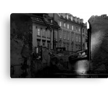 Ruins of old house Canvas Print