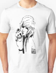 Scene girl with cupcake drawing T-Shirt
