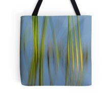 Reeds and Blue Water Tote Bag