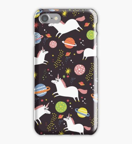 Space unicorns iPhone Case/Skin